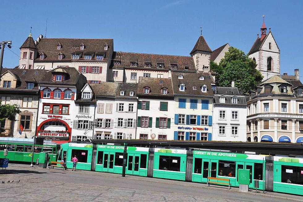 Barfüsserplatz - Basel