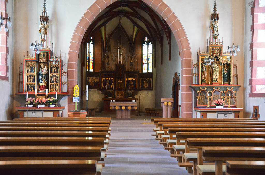 kirche st gallus ober eichsel rheinfelden badische. Black Bedroom Furniture Sets. Home Design Ideas