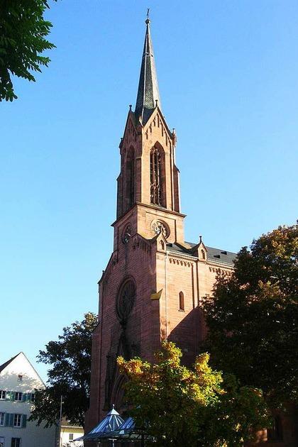 Evangelische Stadtkirche - Müllheim