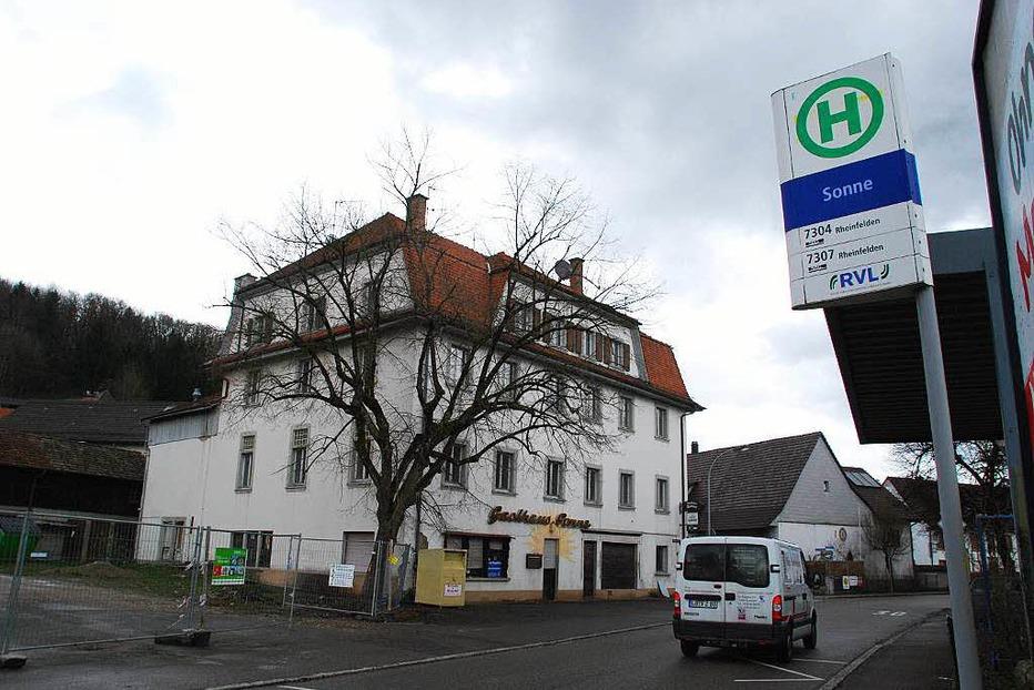 Obere Dorfstra�e Nollingen - Rheinfelden