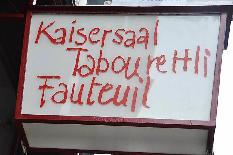 Theater Fauteuil - Basel