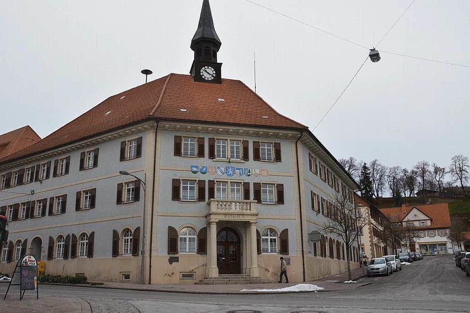 Rathaus - Bonndorf