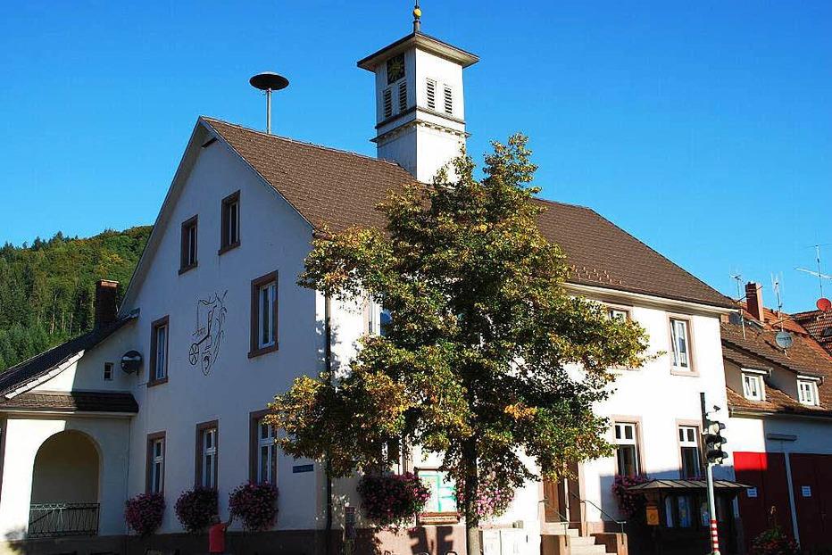 Rathaus Langenau - Schopfheim