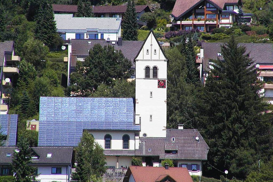 Ev. Bergkirche - Sch�nau