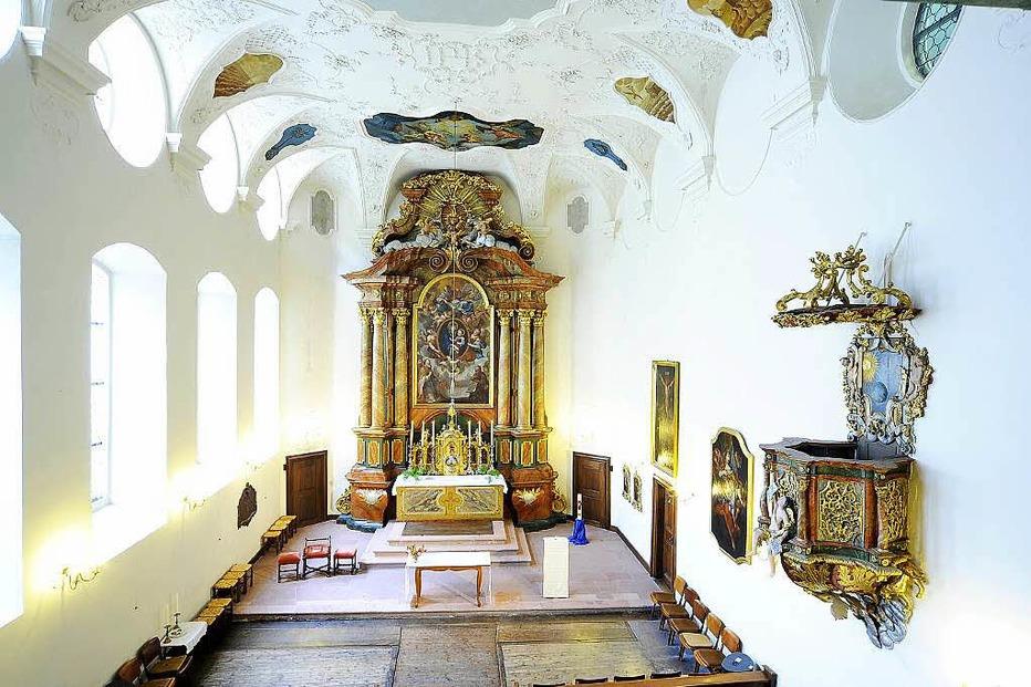 Altkath. Kirche St. Ursula - Freiburg