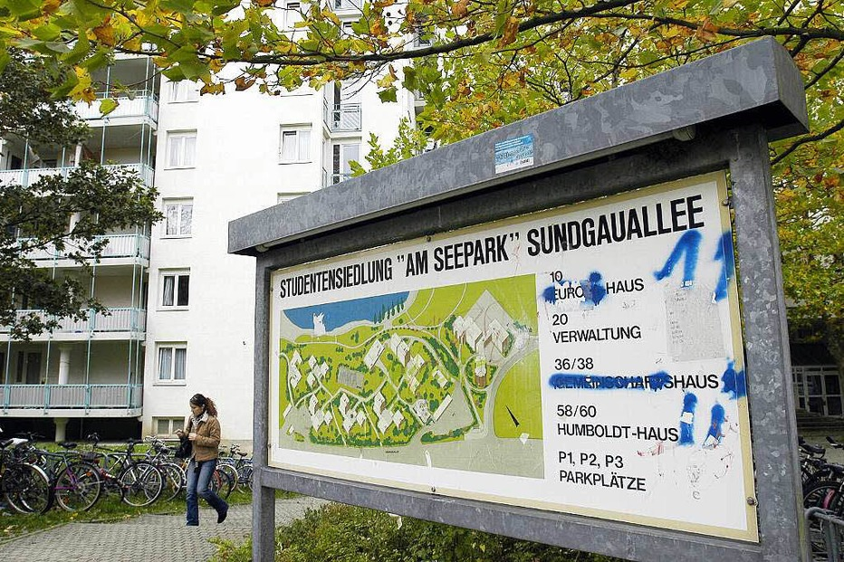 Studentensiedlung am Seepark - Freiburg