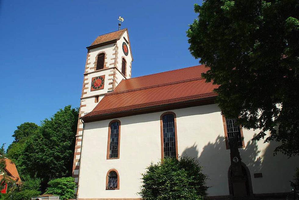 Laurentiuskirche Tegernau - Kleines Wiesental