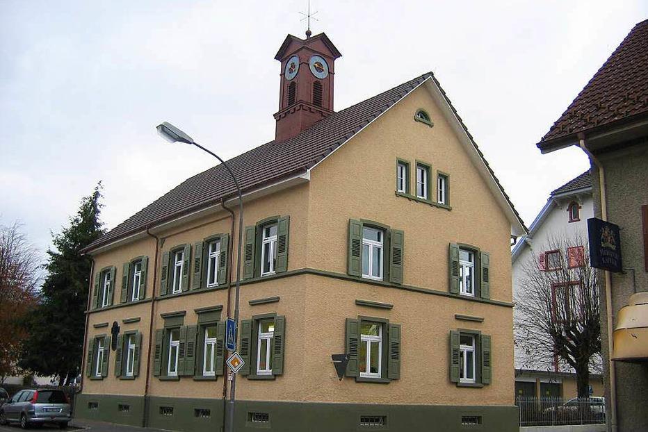 Altes Rathaus Fahrnau - Schopfheim