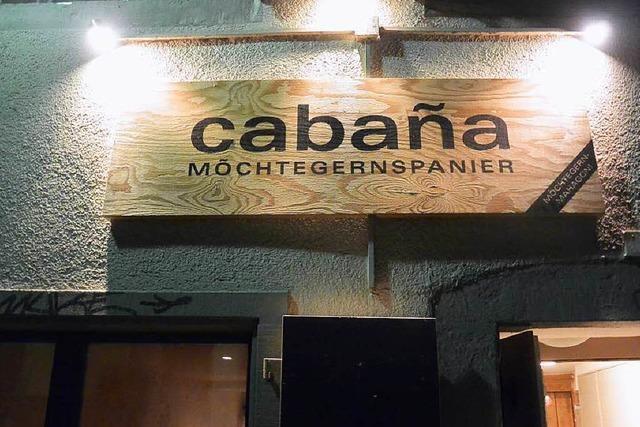 Cabana Möchtegernspanier