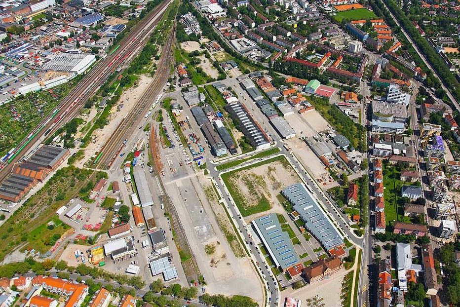 Alter Güterbahnhof - Freiburg