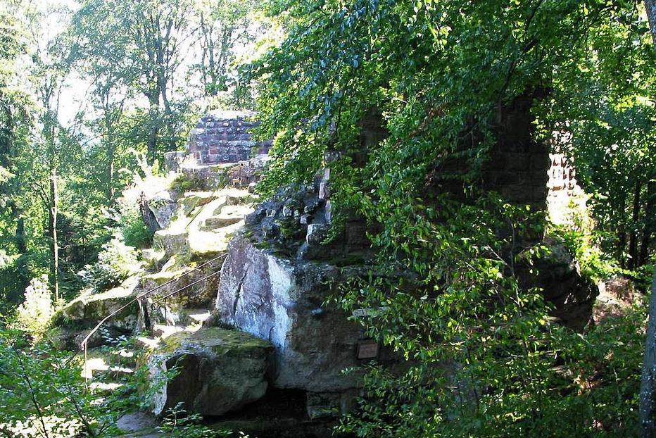 Burgruine Lützelhardt - Seelbach