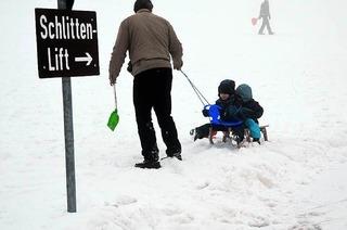 Schlittenhang Hofsgrund