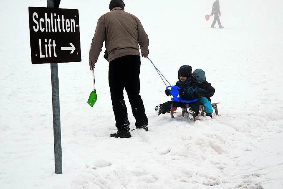 Schlittenhang Hofsgrund - Oberried