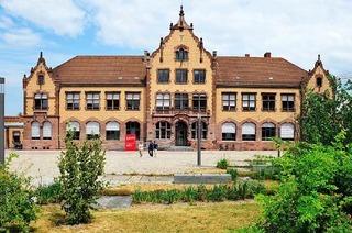 Zollhalle am Güterbahnhof