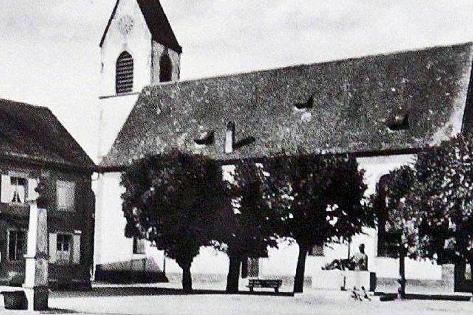 Ev. Kirche Altweil - Weil am Rhein