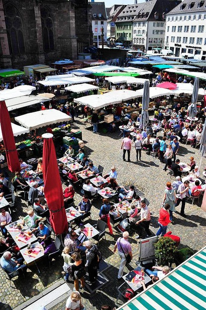 Münsterplatz - Freiburg