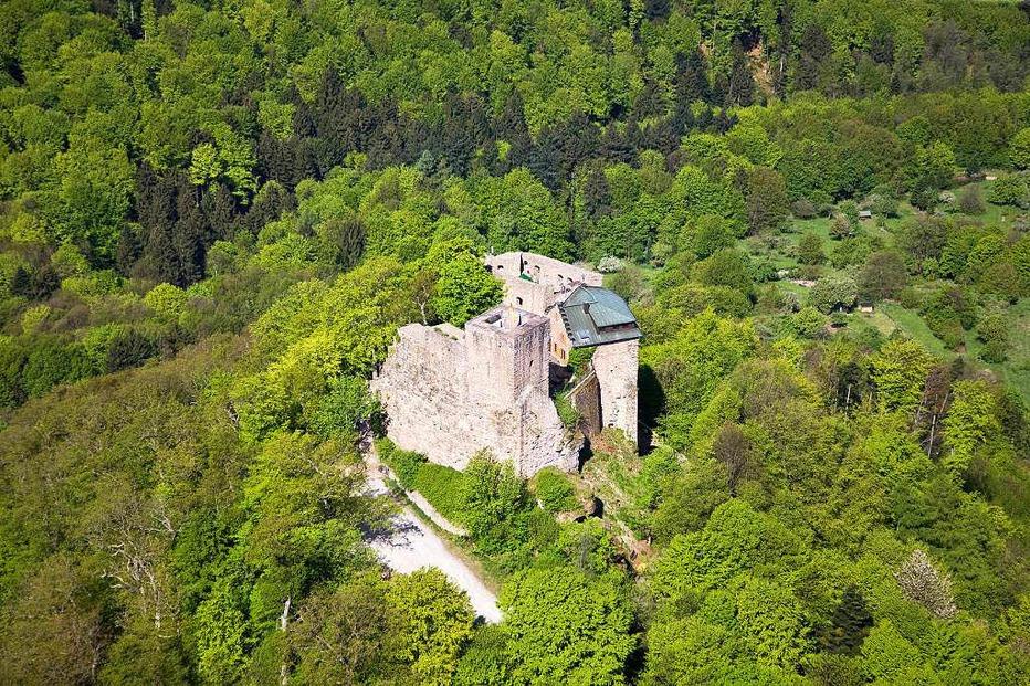 Burg Alt-Eberstein - Baden-Baden