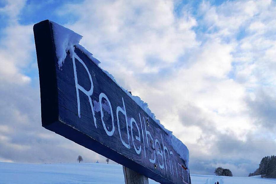Rodelbahn Spitzenberg - Bernau