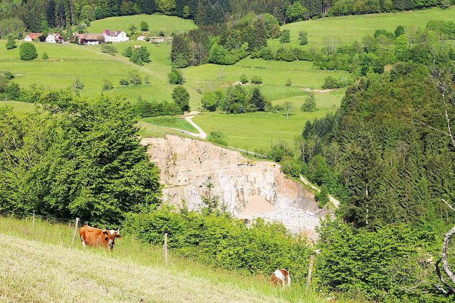 Steinbruch Lütschenbach - Malsburg-Marzell