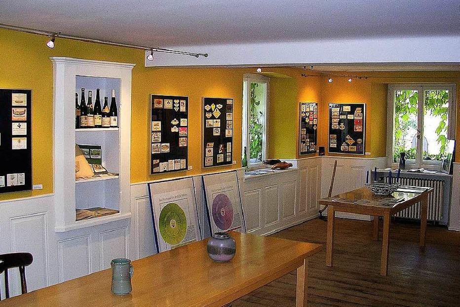 Weinetiketten-Museum Zunzingen - Müllheim