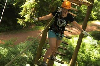 Waldklettergarten Abenteuer im Wald