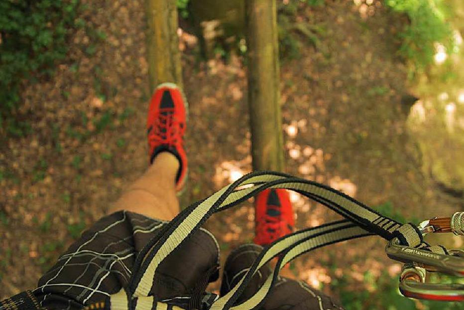 Waldklettergarten Abenteuer im Wald - Kenzingen
