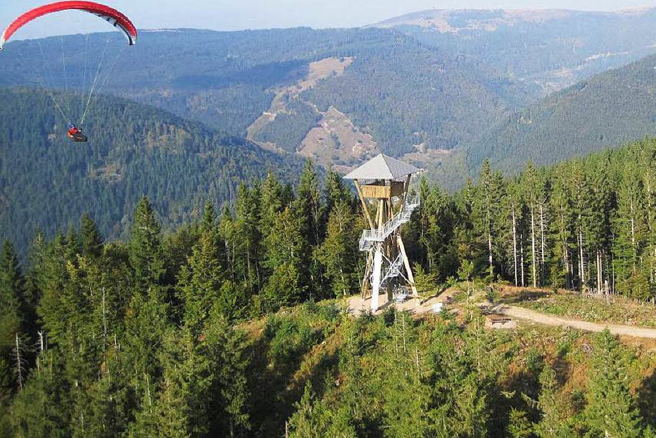 Aussichtsturm Hasenhorn - Todtnau