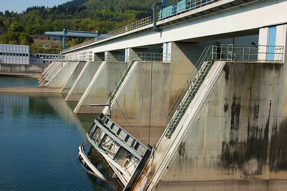 Rheinkraftwerk - Bad Säckingen