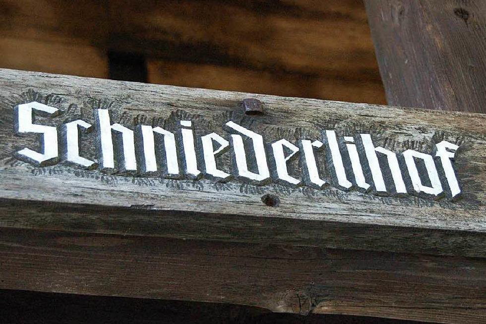 Schniederlihof Hofsgrund - Oberried