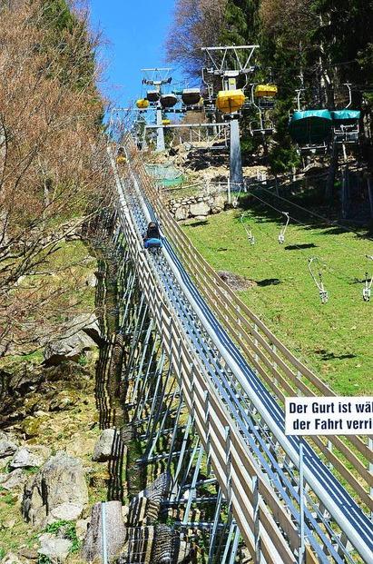 Sommerrodelbahn im Steinwasenpark - Oberried