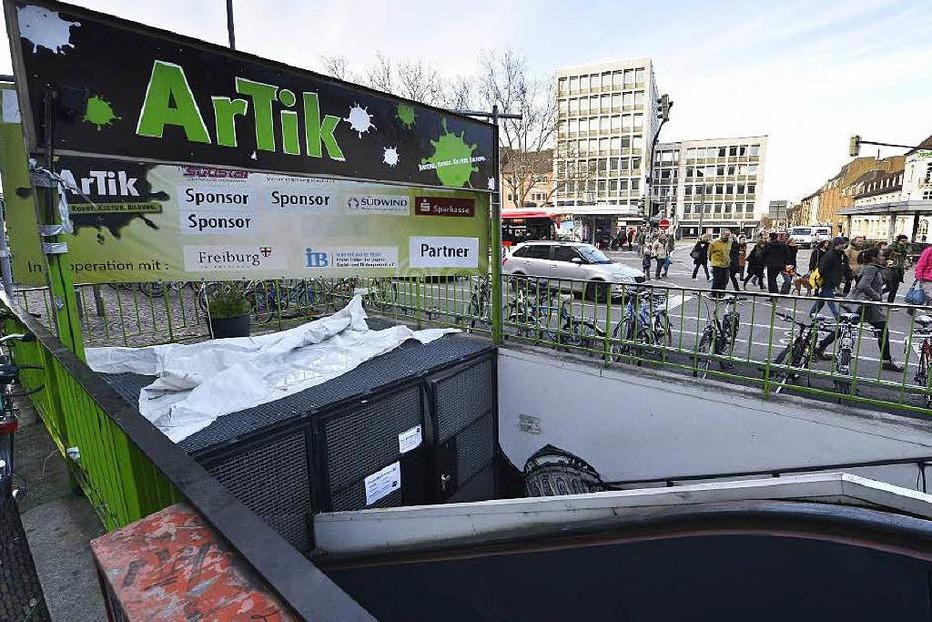 Artik Jugendkulturzentrum (geschlossen) - Freiburg