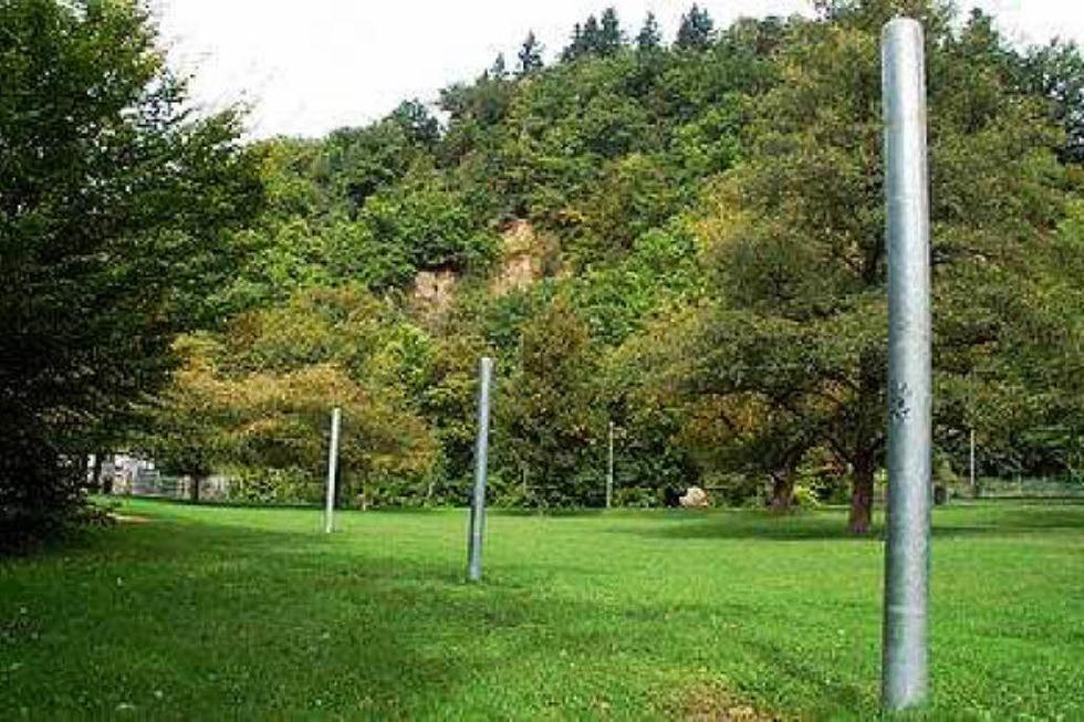 Slackline-Anlage Sandfangweg - Freiburg