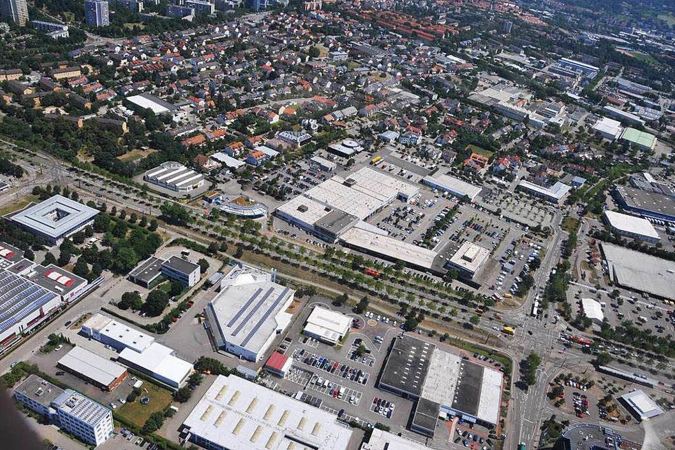 Gewerbegebiet Haid - Freiburg