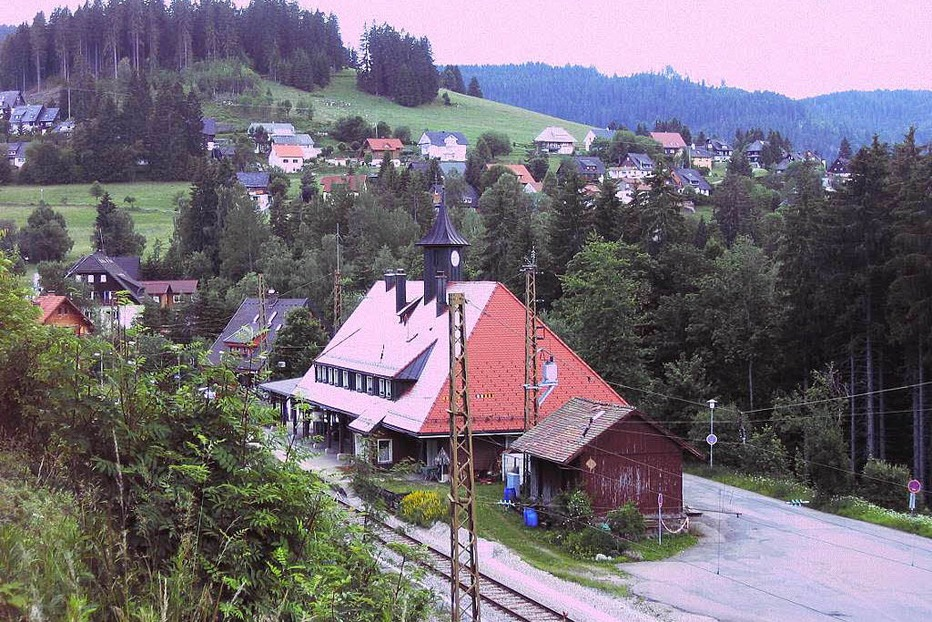 Bahnhof Bärental - Feldberg