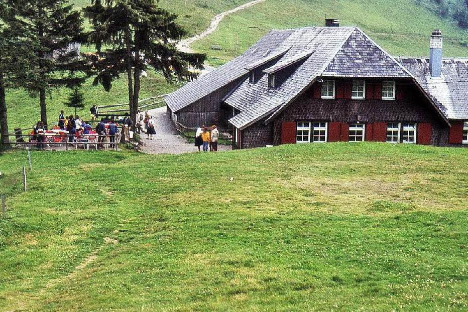 Almgaststätte Kälbelescheuer - Münstertal