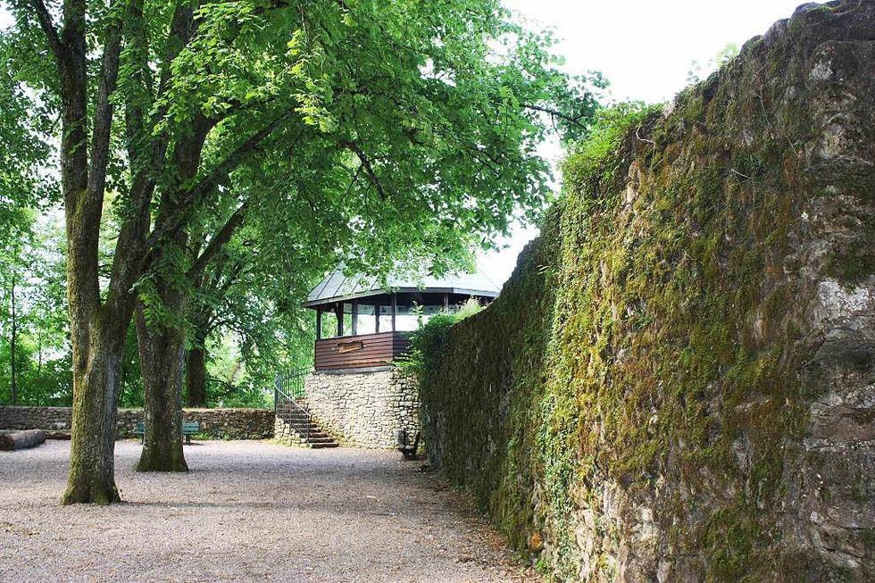 Burgruine Werrach - Wehr