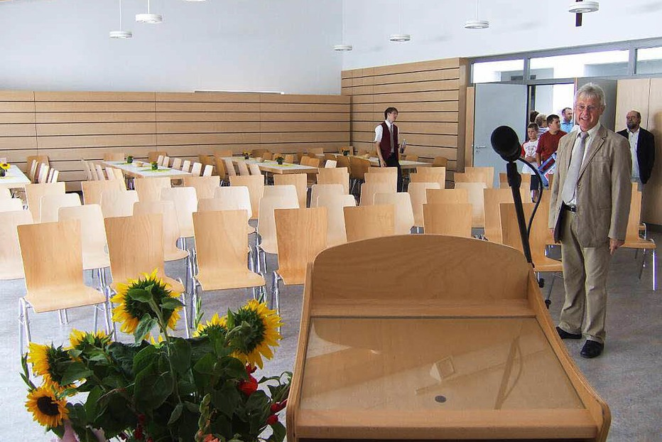 Saal der Pfarrgemeinde Biengen - Bad Krozingen