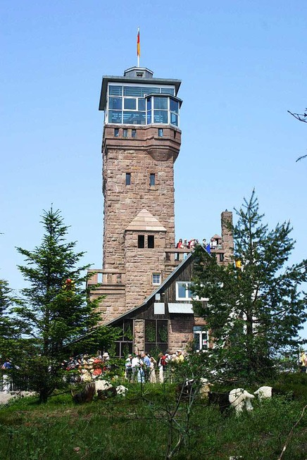 Aussichtsturm Hornisgrinde - Seebach