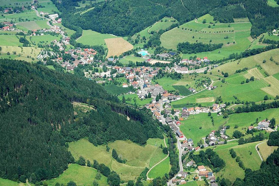 Ortszentrum - Simonswald