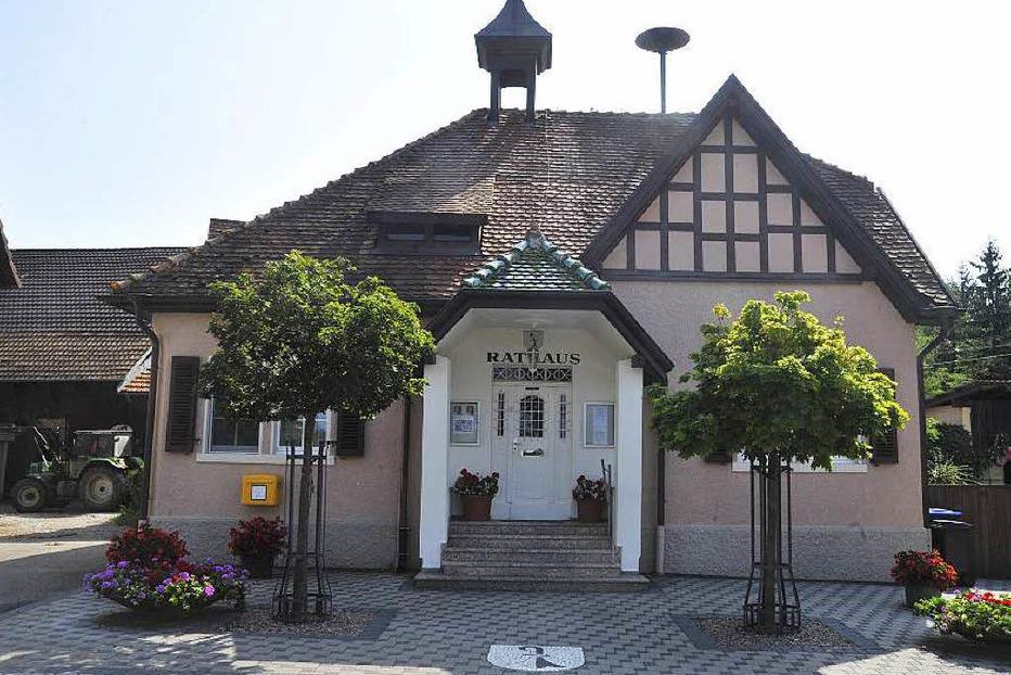 Rathaus Steinenstadt - Neuenburg am Rhein