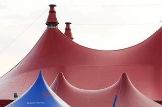 Zelt-Musik-Festival Zirkuszelt