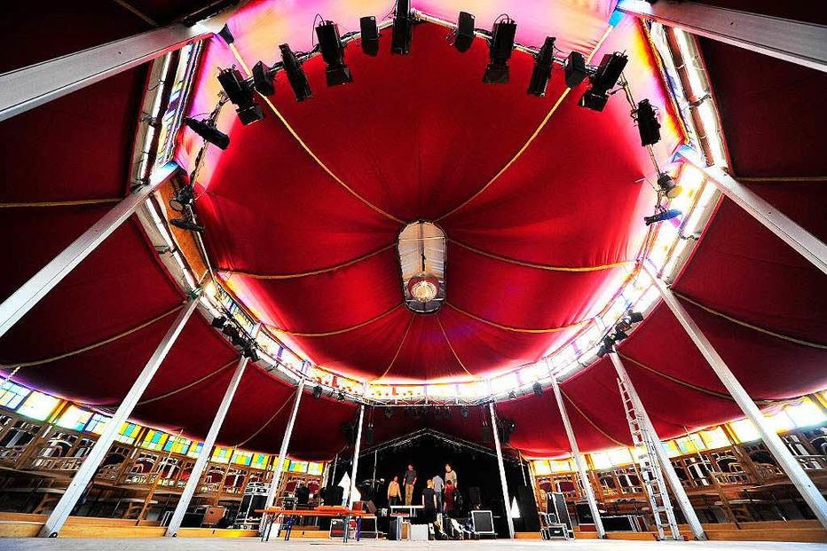 Zelt-Musik-Festival Spiegelzelt - Freiburg