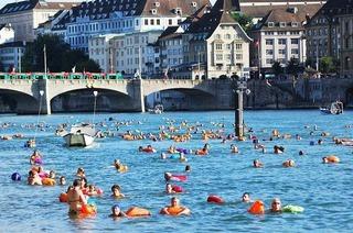 Rheinschwimmen (beim Museum Tinguely)