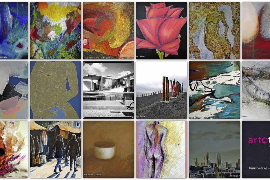 In der Emmendinger Galerie im Tor bieten 18 Künstler Werke zur Ausleihe an - Badische Zeitung TICKET