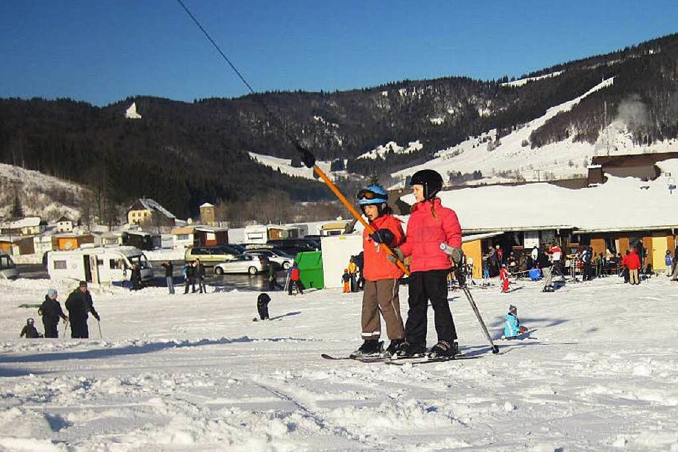 Skilift Spitzenberg - Bernau