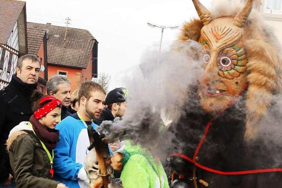 Fotos: Gro�er Narrenumzug in Sulz