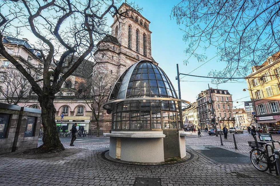 Église St-Pierre-le-Jeune - Straßburg
