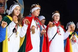 Fotos: Kinderumzug zum Narrenjubiläum der Krakeelia