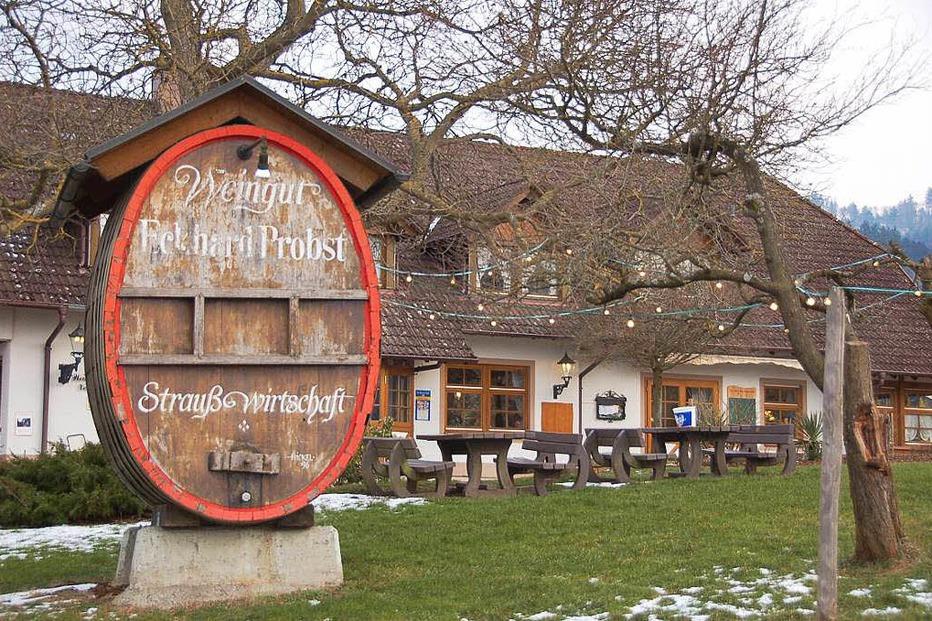 Probsts Strauße (Schleifsteinhof Grunern) - Staufen