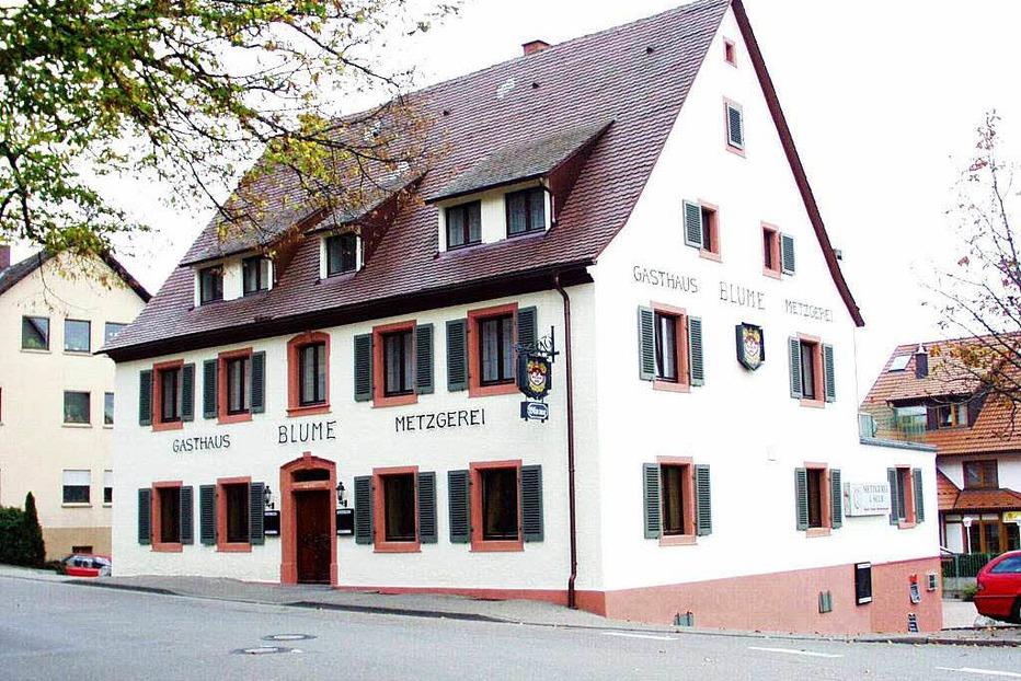 Gasthaus Blume (Opfingen) - Freiburg